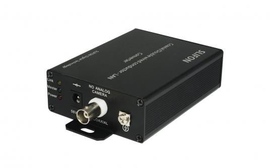 同轴线缆网络传输器-PoE/PoC远程供电