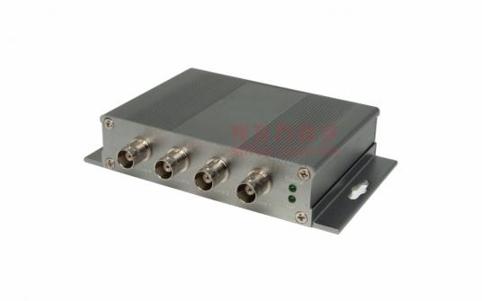 4路集成型同轴网络传输器